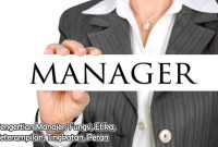 Pengertian Manajer