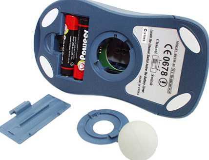 optomechanical mouse