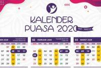 kalender puasa 2020