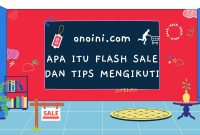 pengertian flash sale